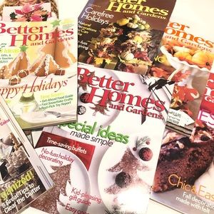 Better Homes & Gardens Magazine Set of 10